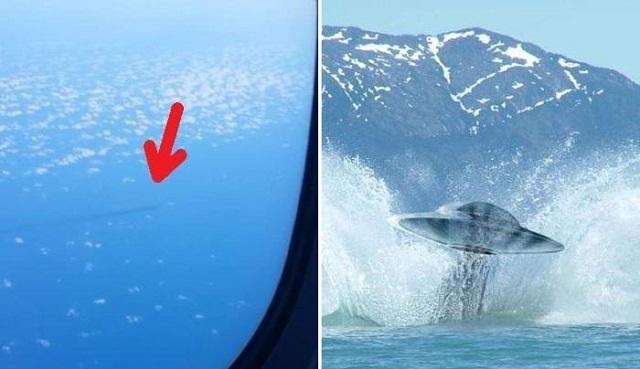 В Японском море сняли на видео НПО. Видео