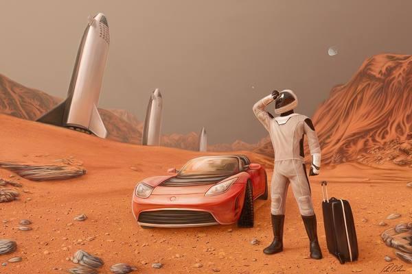 Генетики занимаются созданием сверхлюдей для полета на Марс