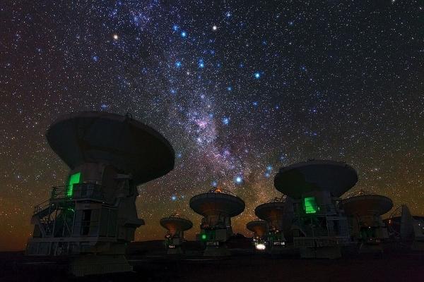 Открытие таинственных сигналов из космоса