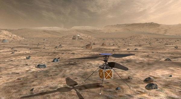 НАСА отправляет вертолет на Марс