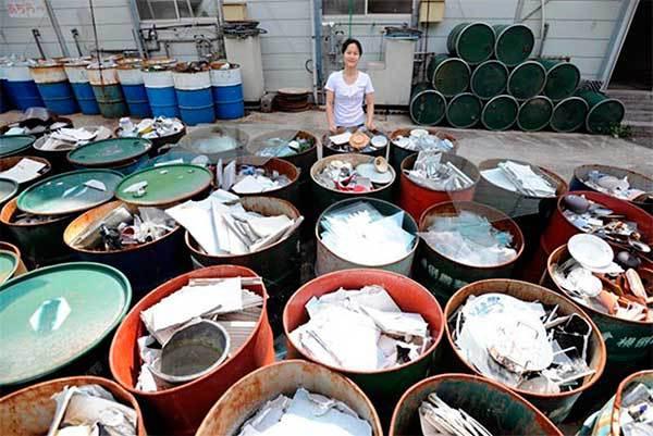 Как Япония избавляется от мусора