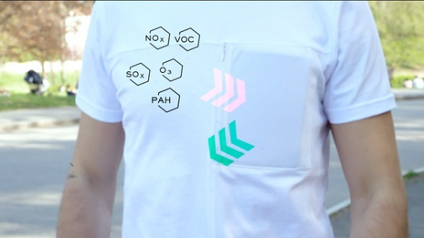 Создана футболка, которая очищает воздух