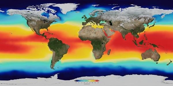Температура воды в океане поднимается быстрее, чем предполагалось