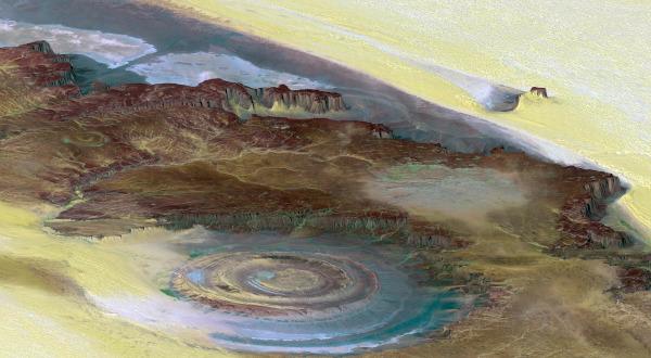В Австралии обнаружили кратер возрастом 2,2 миллиарда лет