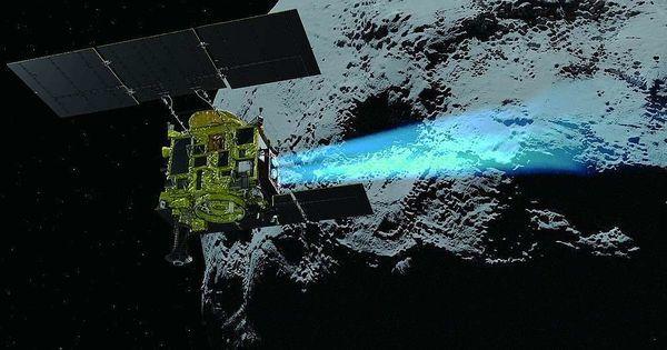 Японский зонд совершил мягкую посадку на астероид