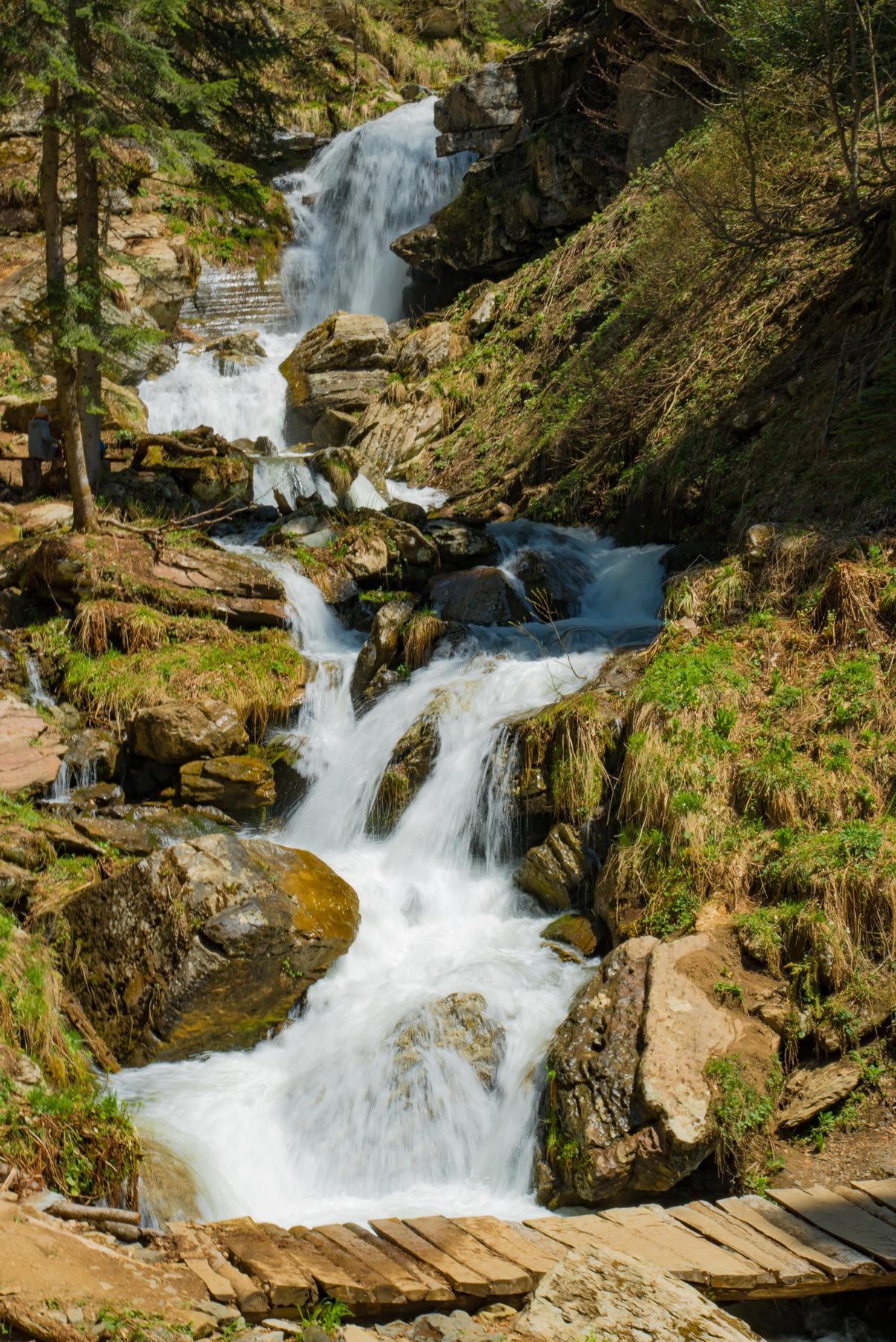 Самый высокий водопад в окрестностях Сочи можно увидеть на