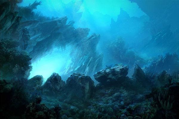 Подводные горы: интересные факты