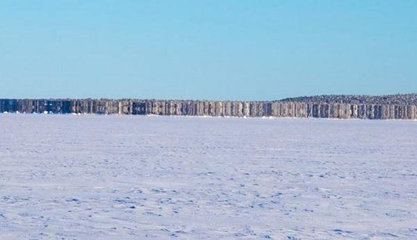 Финские пограничники сфотографировали призрачный остров. 3227.jpeg