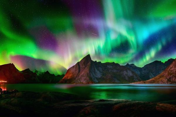 Северное сияние: магия на ночном небе