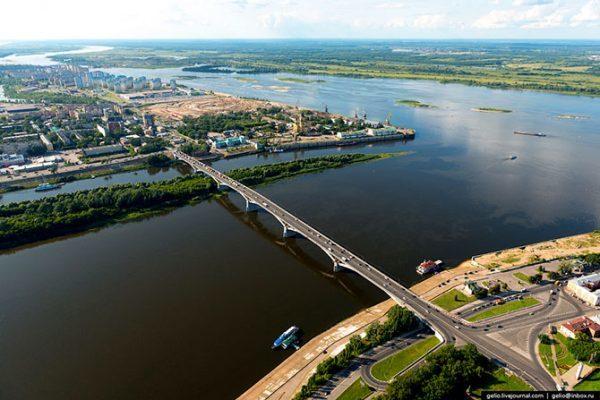 Уровень воды в реке Волге по всей России начал подниматься