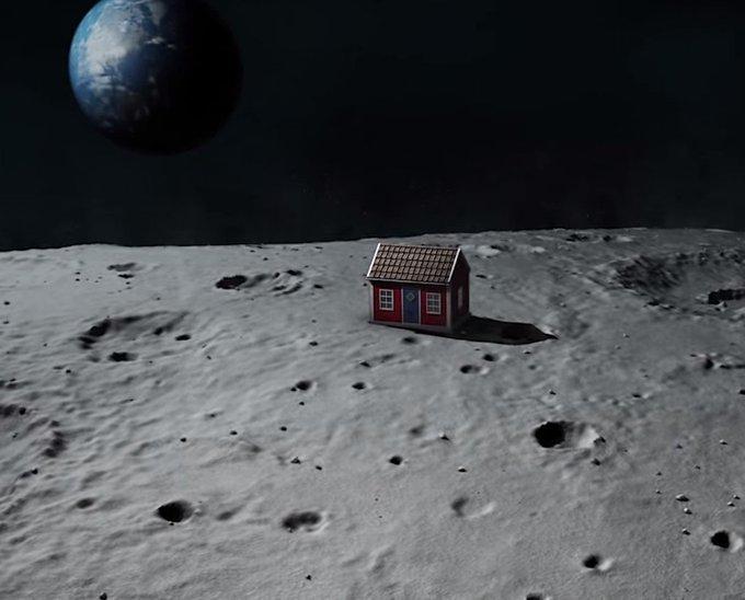 Японские специалисты предложили новый способ строительства городов на Луне