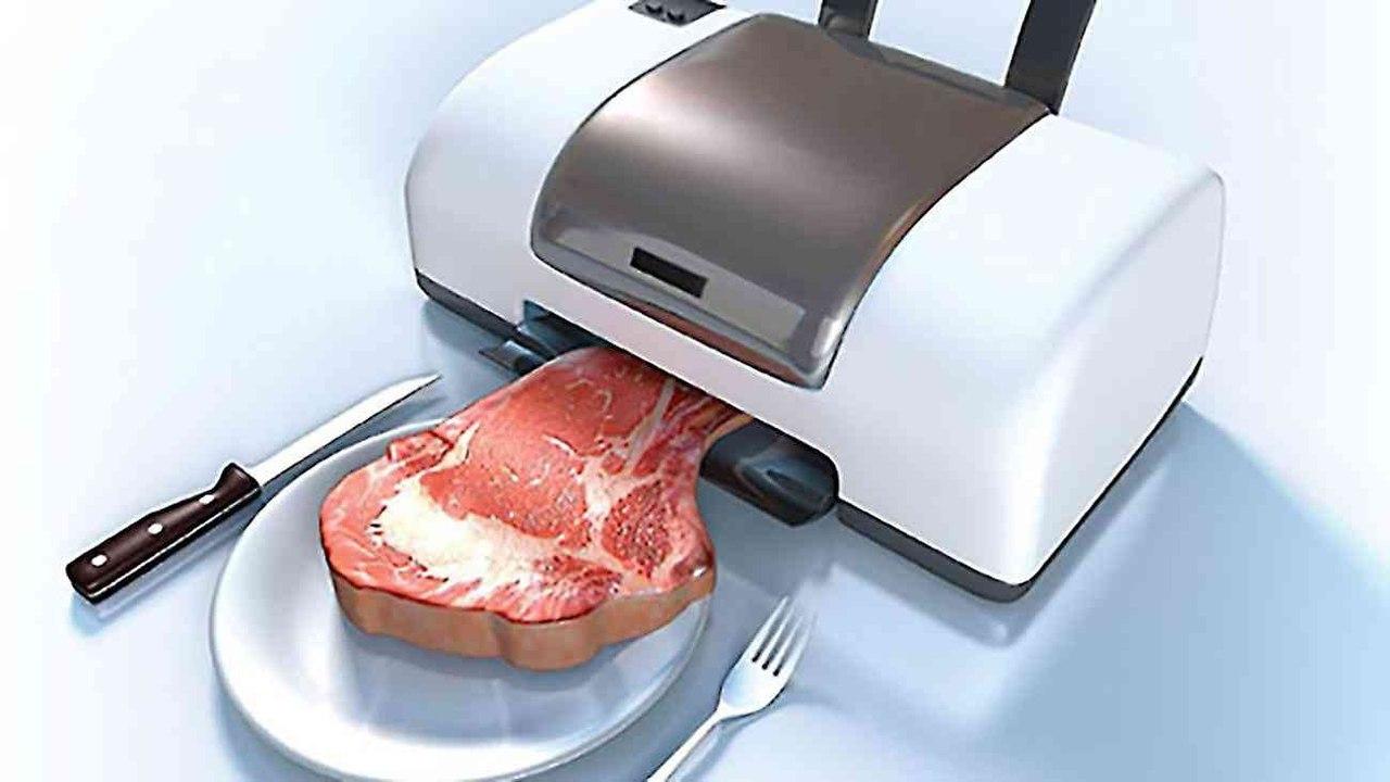 Рыбу и мясо скоро будут печатать на принтере
