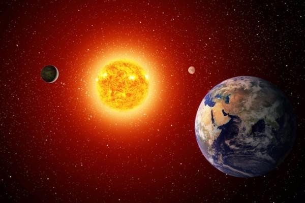 Обнаружена суперземля, вращающаяся вокруг нескольких Солнц