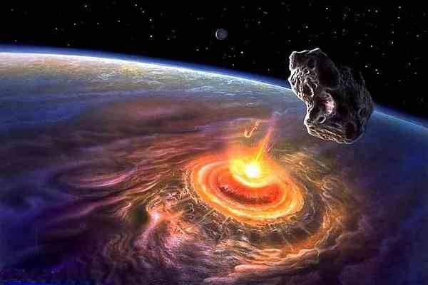 На Землю летят три громадных астероида