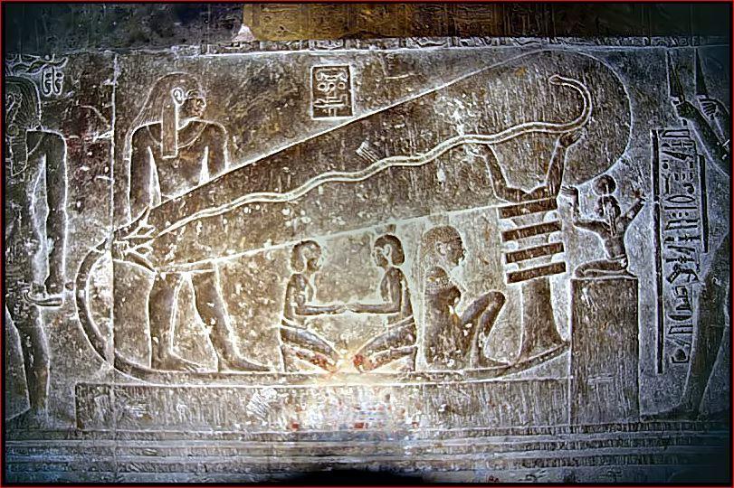 Лампы Дендеры - электрический свет тысячи лет назад