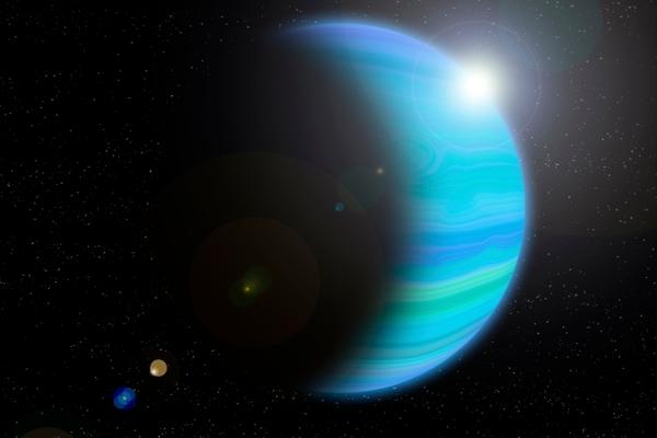 Планета Нептун - загадка на окраине Солнечной системы