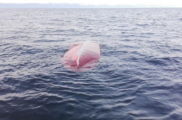 На Байкале спасли рыбака и собаку