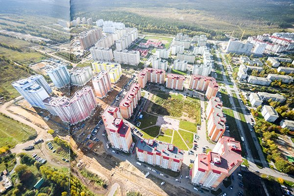 Микрорайон Радужный в Твери снова залило водой