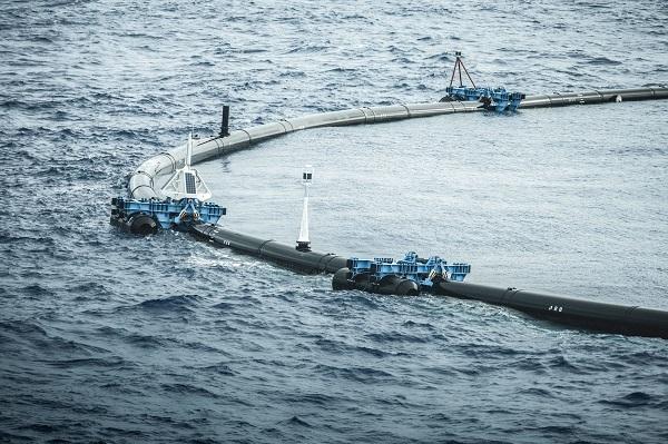 Система 001 - первая в мире система очистки океана
