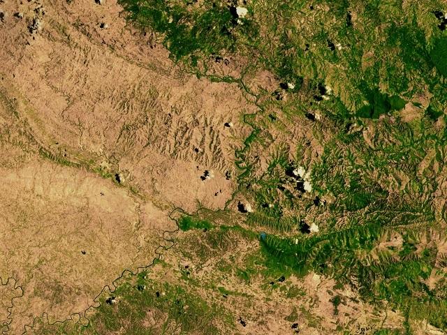 Экологическая катастрофа: Гаити сейчас почти полностью обезлесено