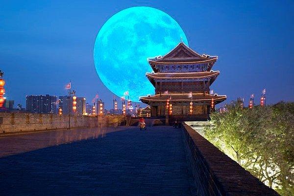 В Китае создадут искусственную луну для освещения города ночью