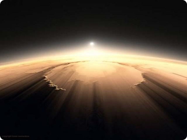 Прислушайтесь к восходу на Марсе