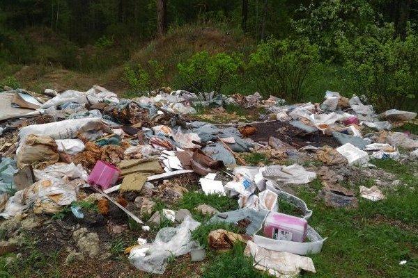 В Барнауле ликвидировали стихийную свалку возле детсада