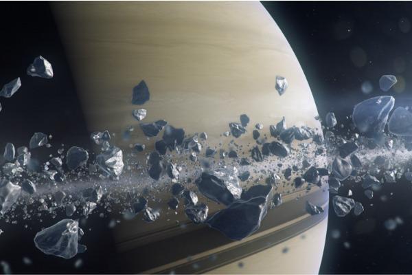 Чудеса Солнечной системы: ледяные шпили, кольца Сатурна