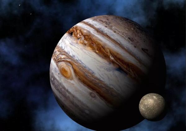 В Юпитер врезался метеорит весом около 45 тонн