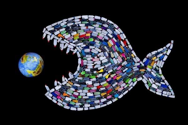 Человечество произвело уже 9,1 млрд тонн пластмассы