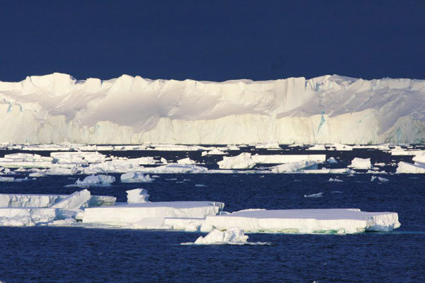 Таяние ледяного покрова изменит морские течения