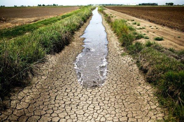Серьезная экологическая угроза - засоление рек