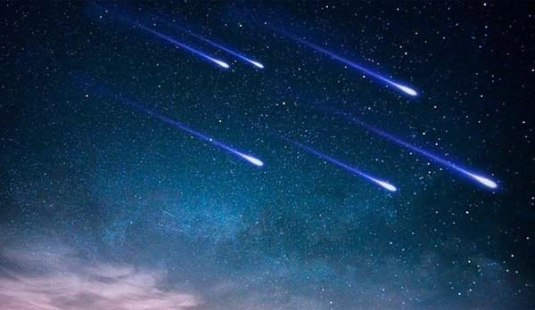 Россияне смогут увидеть метеорный поток Лириды