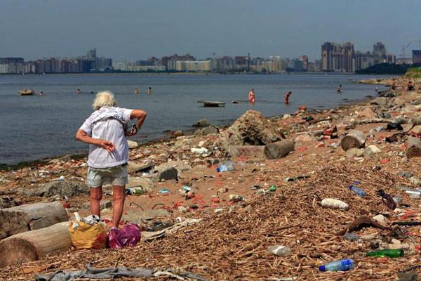 Волонтеры убрали 16 тонн мусорных отходов в Финском заливе