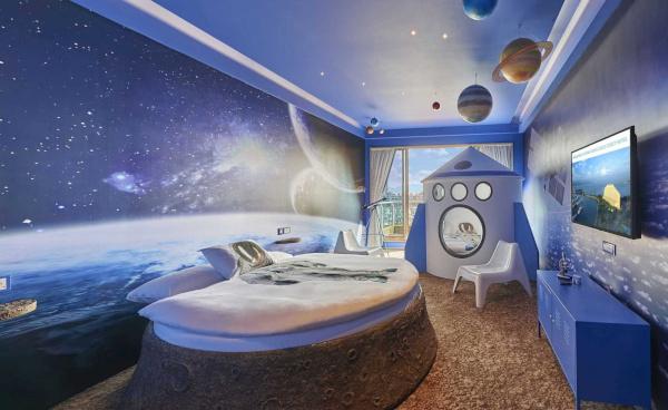 Дизайнеры рассказали, каким будет первый в истории космический отель