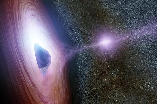 Ученые BHI гадают, можно ли через черную дыру попасть в другую Вселенную