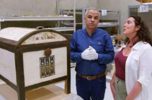 Историки открыли таинственный сундук из гробницы Тутанхамона