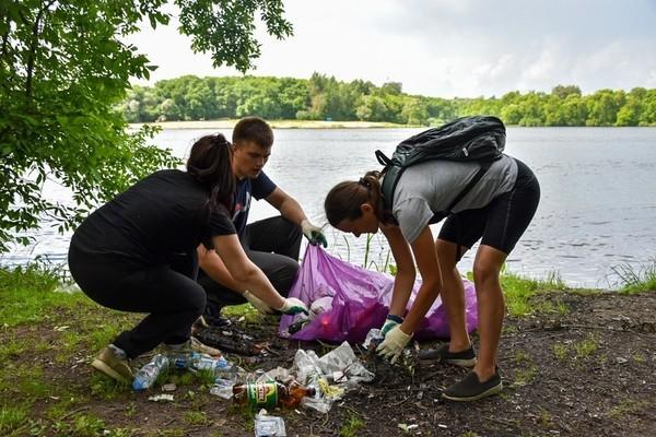 Волонтеры Нового Оскола приняли участие в экологической акции