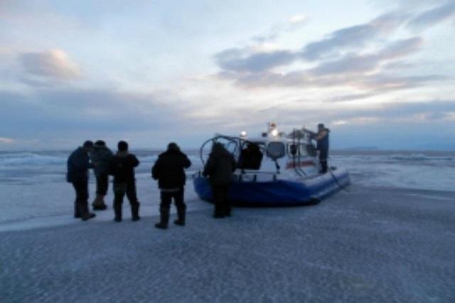 На Ладоге спасли рыбака
