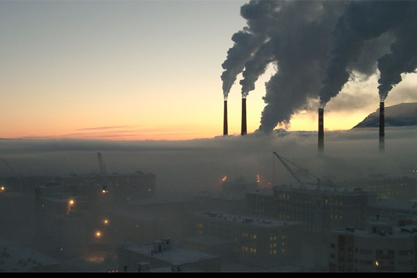 Самые загрязненные регионы России