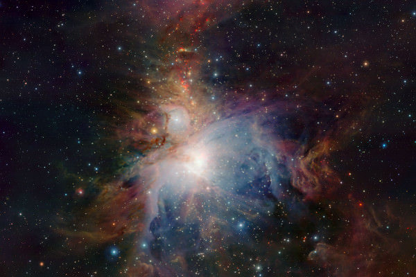 Телескоп ALMA помогает составить карту галактических сред в созвездии Девы