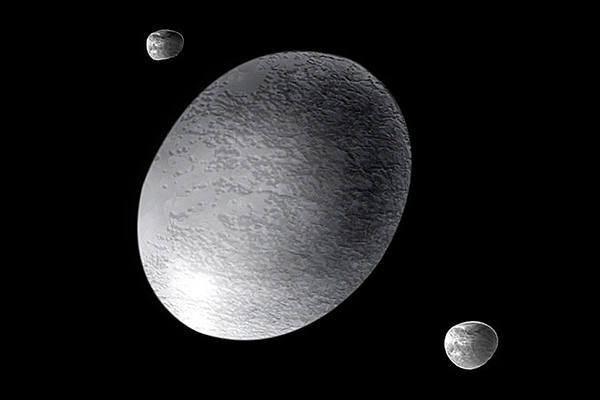 Интересное о карликовой планете Хаумеа