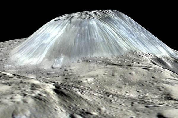 Топ-6 высоких гор в Солнечной системе
