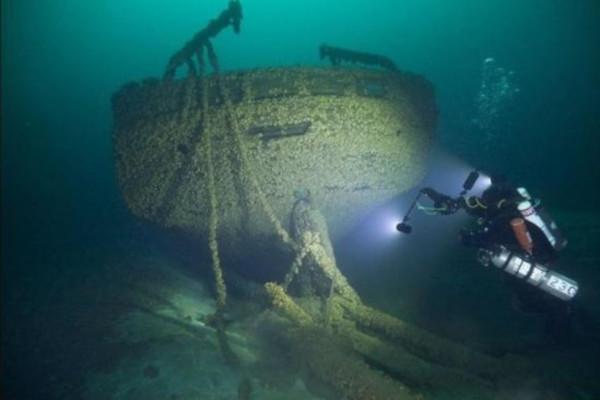 На дне озера Верхнее обнаружили пароход, затонувший 118 лет назад