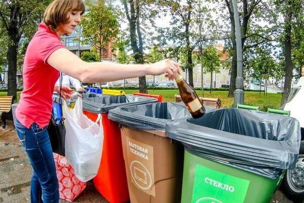 Раздельный сбор отходов внедряется в Калуге