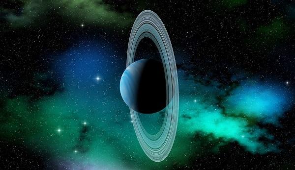 Почему Уран лежит на боку?
