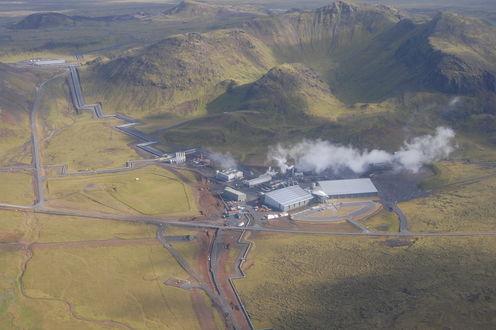 В Исландии научились превращать выбросы углекислого газа в камень
