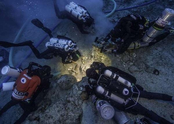 Древний скелет обнаружен на кораблекрушении Антикитера