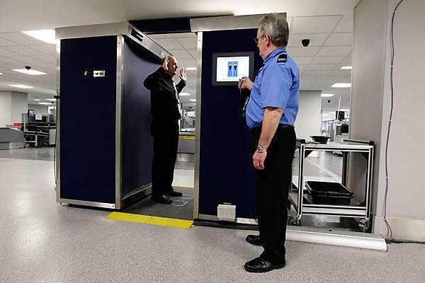 Потенциальный риск от рентгеновского сканера есть только у тех, кто облучается ежедневно