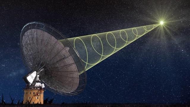 Астрономы поймали сигнал внеземной цивилизации